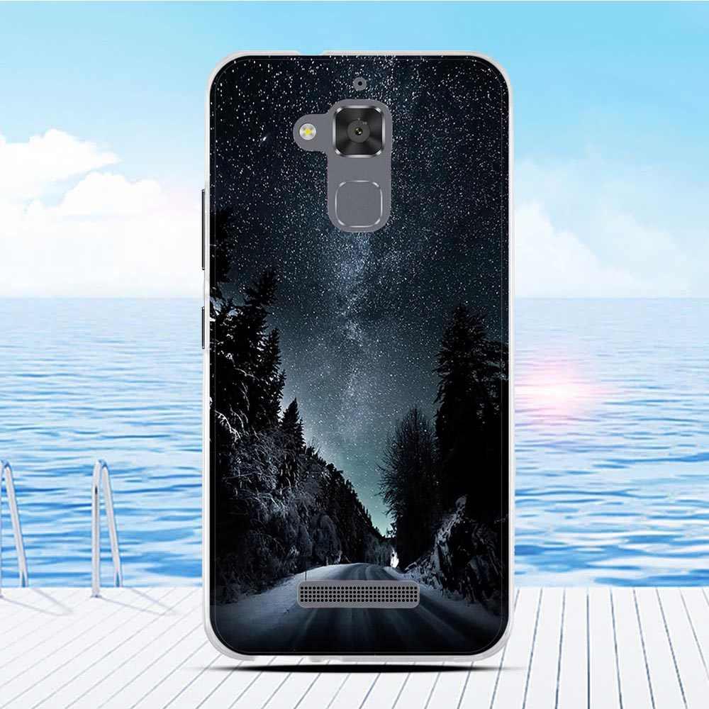 Etui na telefon do Asus Zenfone 3 Max ZC520TL TPU Shell 3D Funda do Asus 3 Max ZC520TL zderzak 5.2 cali silikon Protect Coque