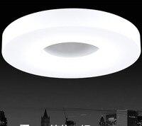 50% de DESCONTO LEVOU Rodada luzes de teto de Diâmetro 200mm, alumínio + Acrílico Alto brilho 220 V 230 V 240 V, branco Fresco, 5 W 12 W Conduziu Lâmpadas Do Teto