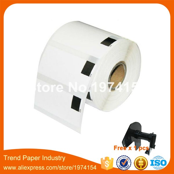 25 x Rolls Brother Compatible Labels DK 11209 29x62mm Thermal paper stickers dk 11209 dk 1209