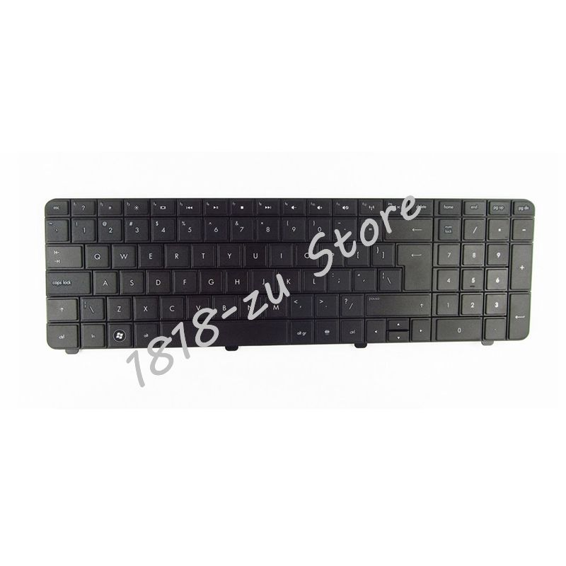 YALUZU UI Keyboard For HP Pavilion G72 CQ72 G72-100 G72-200 G72T-200 CTO G72-a00 G72-b00 G72t-b00 CTO G72-c00 G72T-B00 G72-B63