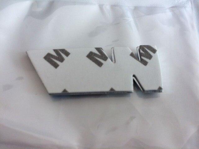 50x Car Emblem Mpower M Tech Sport Small Side Wing Chrome Badge