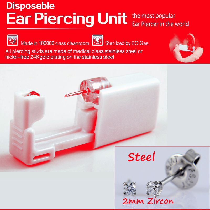 Tools & Accessories 12 Pairs Earring Piercing Jewelry Alloy Disposable Safe Ear Stud Piercing Gun Piercer Tool Goods Of Every Description Are Available