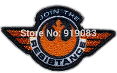 STAR WARS 7 VII The Force Awakens TV Movie Series Uniform applique iron on patch Join