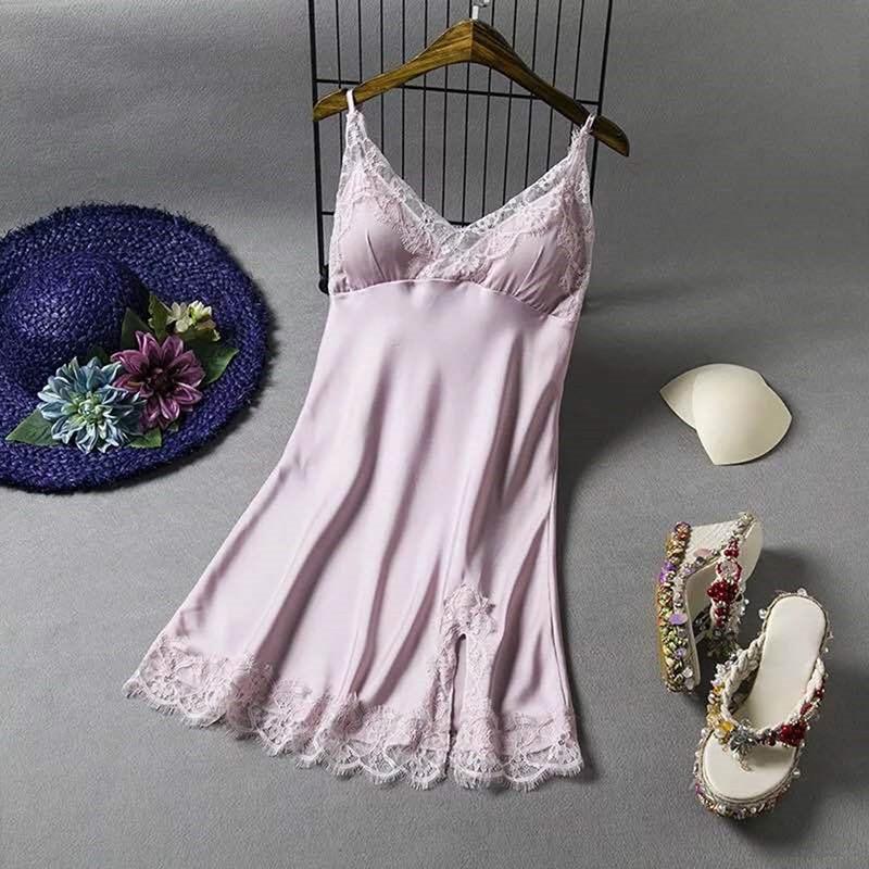 Lace Women Sleepwear Ladies Sexy Lingerie Sleepdress Babydoll Nightdress Nightgown Sleepshirts Homewear