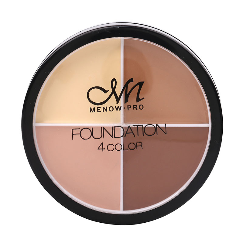 Menow 4 Colors Brand Makeup Face Concealer Cream Long Lasting Waterproof Camouflage Concealer Palette Cosmetics Make Up Cosmetic image