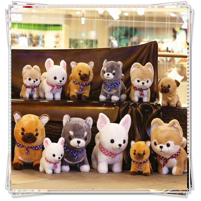 Miccidan dog plush ty doll soft toys stuffed animals mamas papas toys for  children birthday valentine s 1a6f323a9ea7