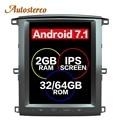 Tesla stile Android di Navigazione GPS Per Auto Per TOYOTA LAND CRUISER LC100 03 headunit multimedia radio registratore a nastro no lettore DVD 4 K