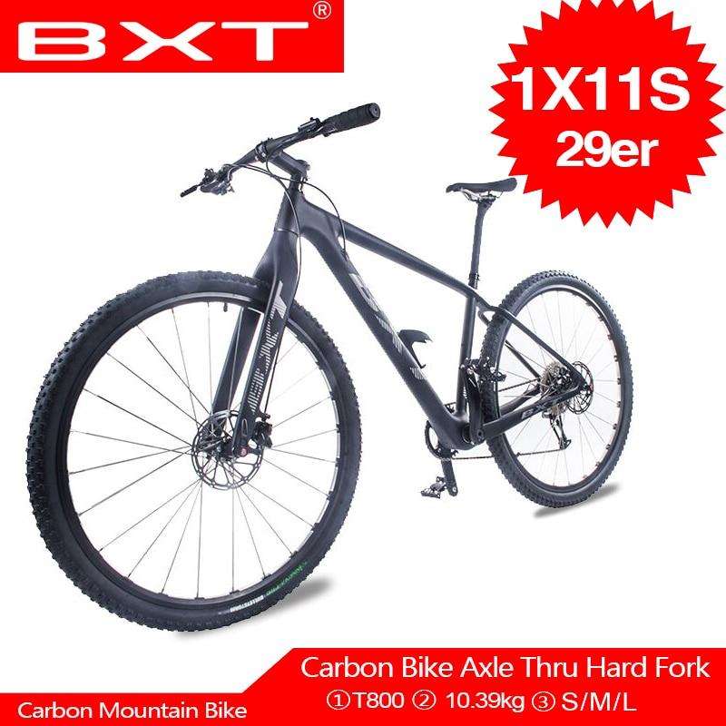 BXT nouveau lancement VTT 11 vitesses vélo de montagne double frein à disque vélo 29er vtt vélo accessoires livraison gratuite