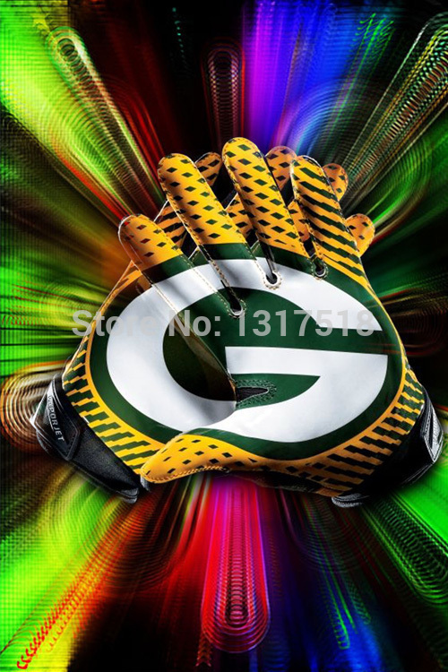 Green Bay Packers Wall Art big sales decals 27x40cm green bay packers home wall poster-in