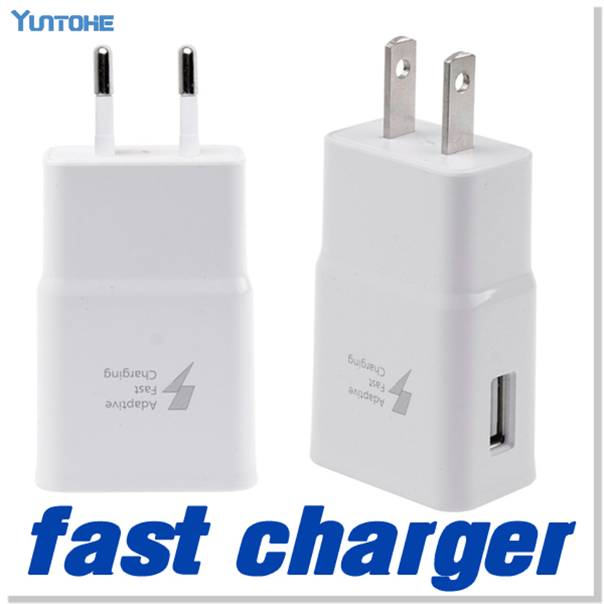 100pcs lot Adaptive Fast Charger 5V 2A USB Wall Charger Power Adapter For Samsung Galaxy Note