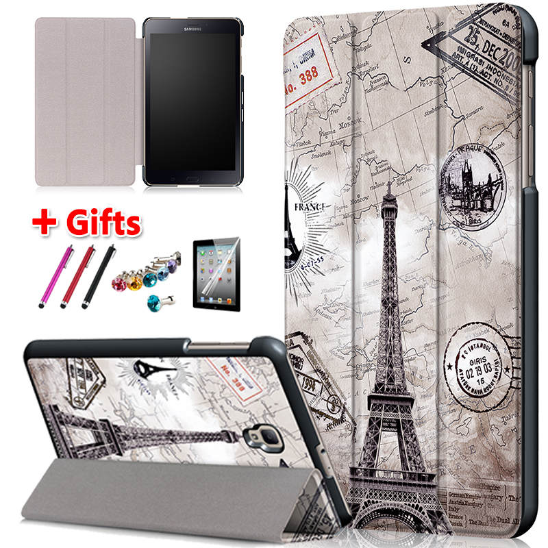 Cover case for samsung galaxy tab a 8.0 sm T385 T380 2017 folio stand Cover casefor samsung Galaxy Tab A2 S SM-T380 T385 +giftCover case for samsung galaxy tab a 8.0 sm T385 T380 2017 folio stand Cover casefor samsung Galaxy Tab A2 S SM-T380 T385 +gift