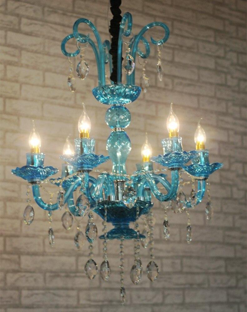 aliexpress  buy dining room blue green violet crystal, Lighting ideas