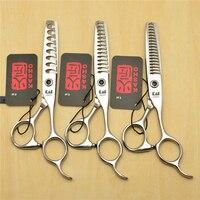 6 17cm JP Kasho 440C Professional Human Hair Thinning Scissors Hairdressing Scissors 8 14 18 Teeth