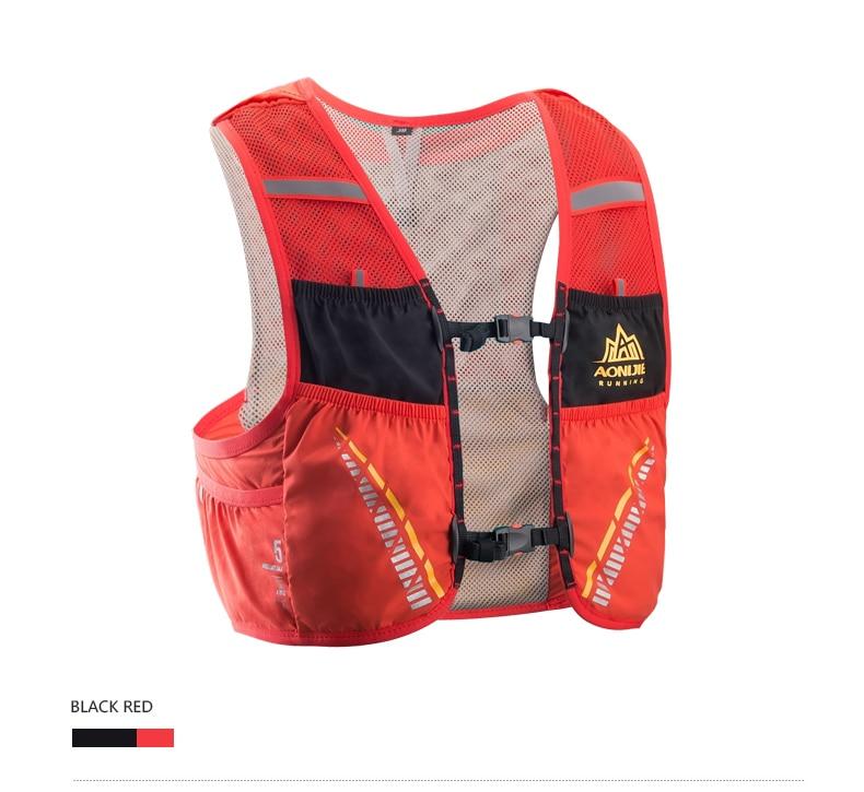 Aonijie 5l pacote de hidratação mochila saco