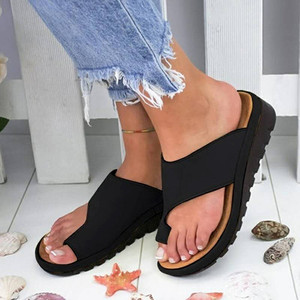 Womens Fashion Flats Wedges Open Toe Ankle Beach Shoes Roman Slippers Sandals slippers women summer 2019 flip flops women