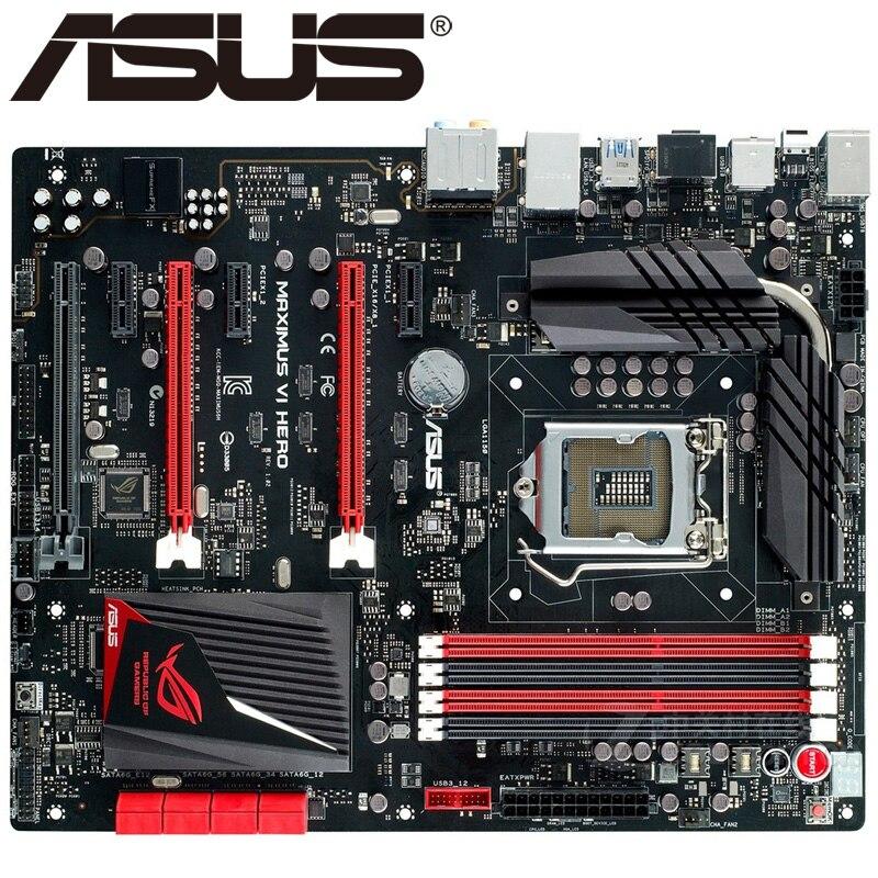 Asus Maximus Vi Hero Desktop Motherboard Z87 Socket Lga