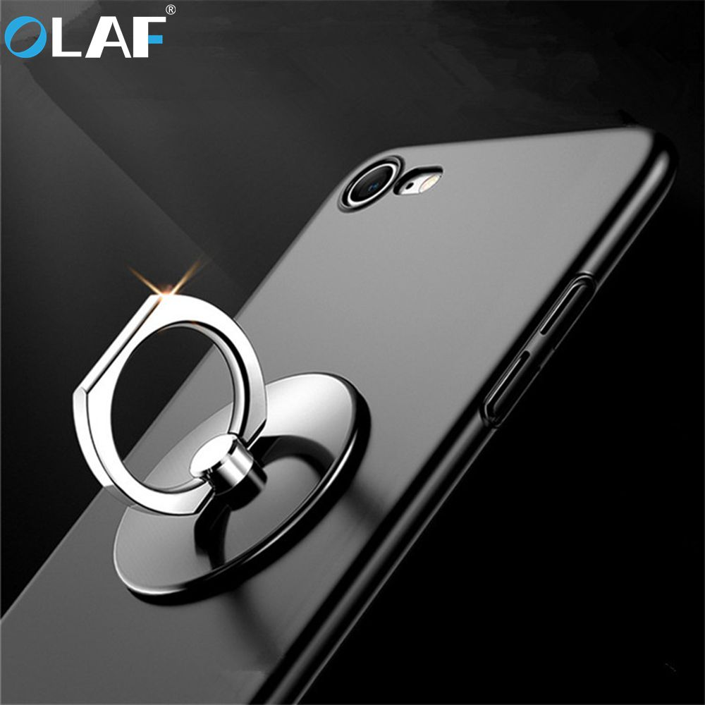 Olaf 360 Degree Finger Ring Mobile Phone Grip Stand Holder For IPhone Samsung Xiaomi HTC Universal Metal Phone Holder Stand