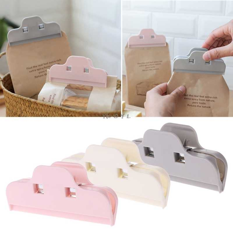 Dried Food Bag Sealed Clips Candy Waterproof Storage Package Sealing Clamp 10cm
