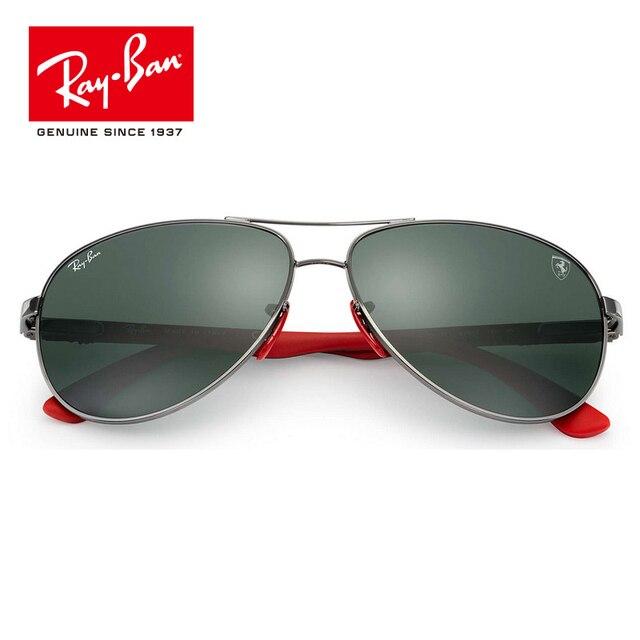 Rayban 2018 Оригинал Ferrari Серии солнцезащитные очки УФ-защитой объектива очки  Аксессуары Солнцезащитные очки RB8313M 2bb5a07e0d5bb