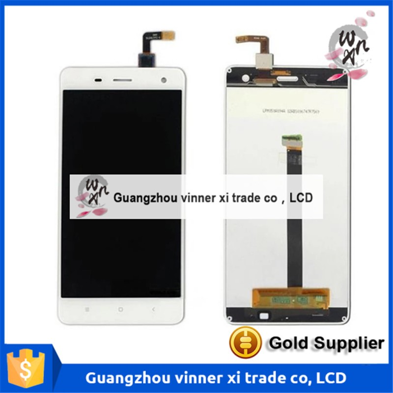 Original New For Xiaomi Mi4 M4 Mi 4 LCD Display + Digitizer Touch Screen Cell Phone Parts + Tool + Free Shipping