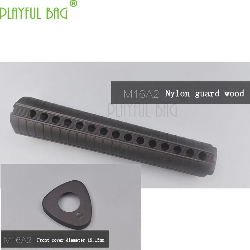 Outdoor Activities CS M16A2 Nylon Protection Wood Fishbone TTM BD556 Water Bullet Gun Jinming Accessories Refit  M46