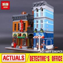 Lepin 15011 2262 sztuk Serii Detektyw's Biurowe Zestaw Zestaw Avengers Montażu Klocki Zabawki Edukacyjne 10197