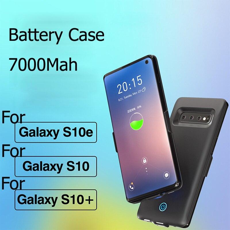 7000mAh battery case For Samsung S10E External power bank battery case For Samsung Galaxy S10 plus battery charger case7000mAh battery case For Samsung S10E External power bank battery case For Samsung Galaxy S10 plus battery charger case