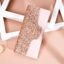 Купить с кэшбэком 2019 Women Wallets de Purses New Fashion Luxury Party Clutch Pu Leather Coin Purse Card Package slim Lace wallet