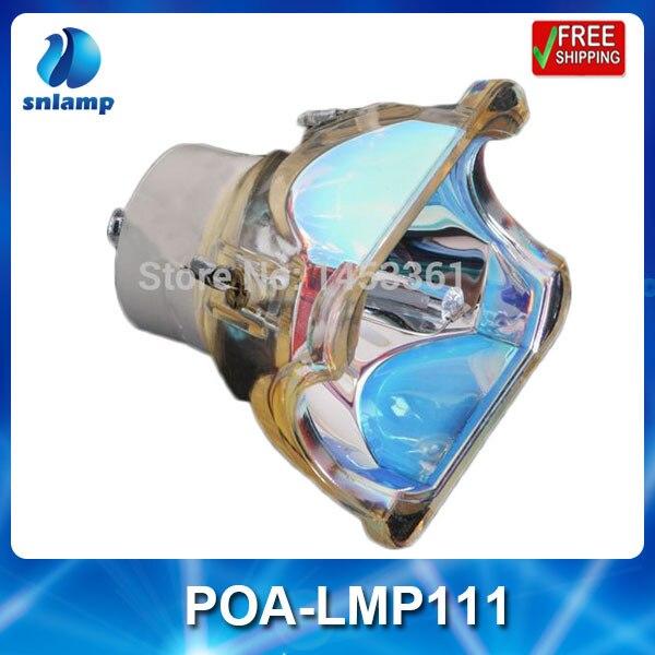 ФОТО Cheap Replacement bare lamp POA-LMP111 for PLC-XU1000C/PLC-WXU30/PLC-WXU30K/PLC-XU111...