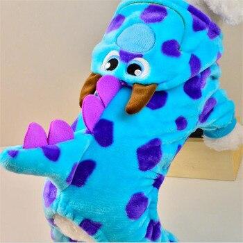 Bonito bolha dragão roupas para cães de estimação pequeno e médio roupas para animais cachorro cachorro quatro pernas casacos jumsuit para o outono inverno xxs
