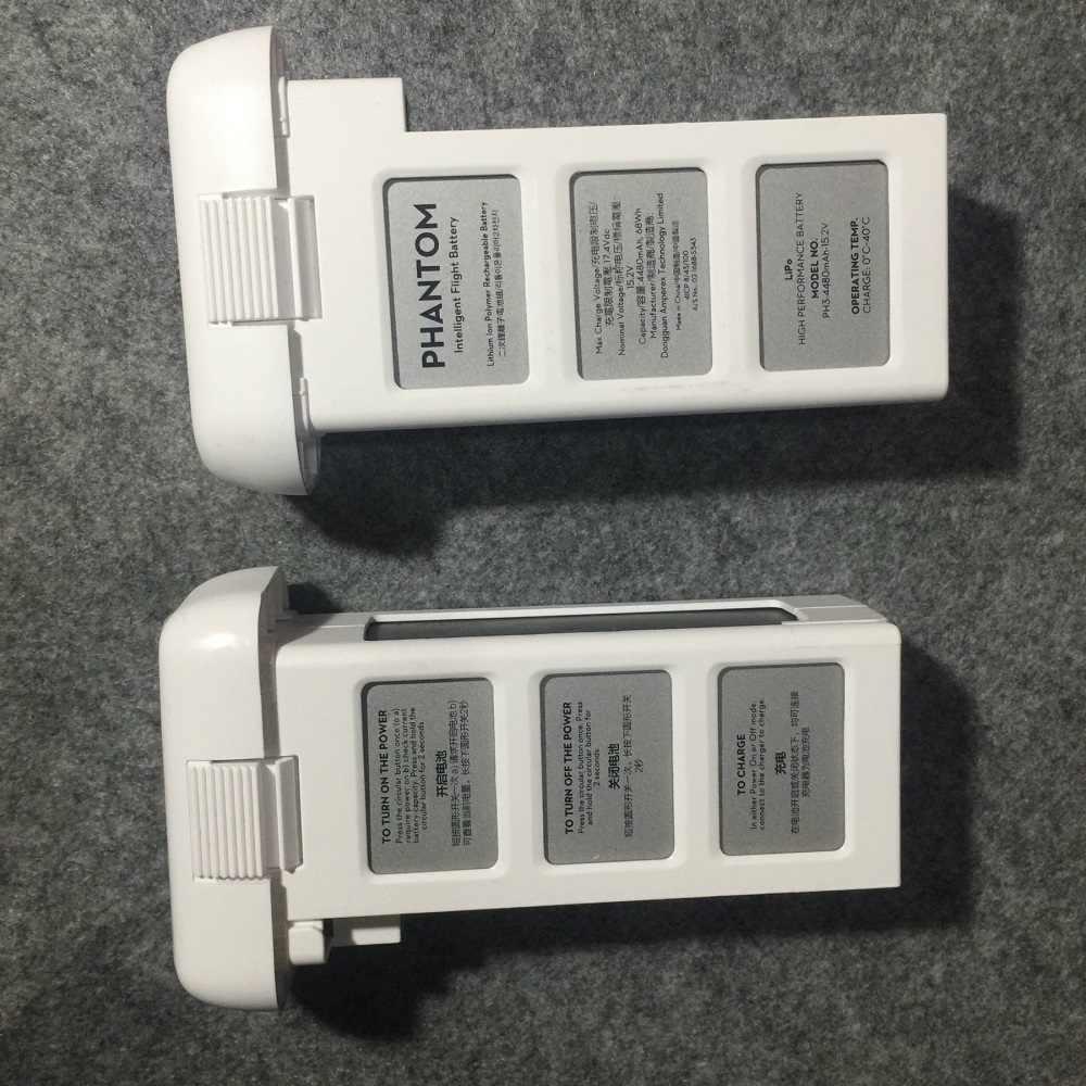 100% Оригинальные DJI Phantom 3 Стандартный Профессиональный Улучшенный Интеллектуальный полета Батарея 4480 мАч 15,2 В LiPo 4S запасных Запчасти
