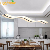 Modern Pendant Lights Kitchen Living Dinging Room Light Fixtures LED Hanging Lamp Luminaires Dimmable With Control AC90 260V