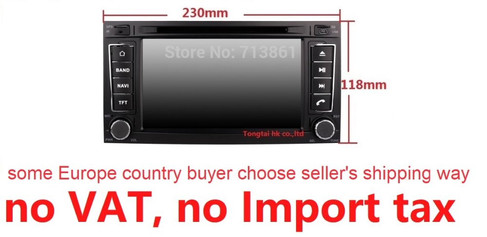 Android 7.1 for VW Touareg 2din car DVD,gps navigation,wifi,radio,bluetooth,Steering wheel,Canbus,free 8g map,mic,touch screen
