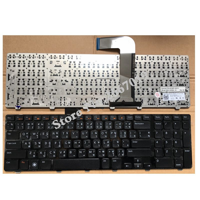 AR New Replace laptop keyboard For DELL N7110 17R 7110 L702X Vostro 3750 5720 7720