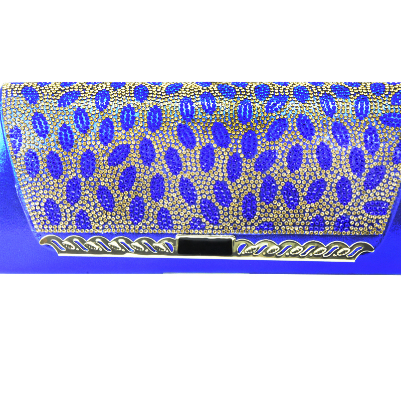 Bleu La or pourpre argent Et Avec bleu Couleur Arrivée Assortis Sac Chaussures Royal Chaussure Dans Décoré Fête Pour Femmes Nigérianes wine Ensemble Nouvelle Sacs Noir Strass Les OPkTwZuiX