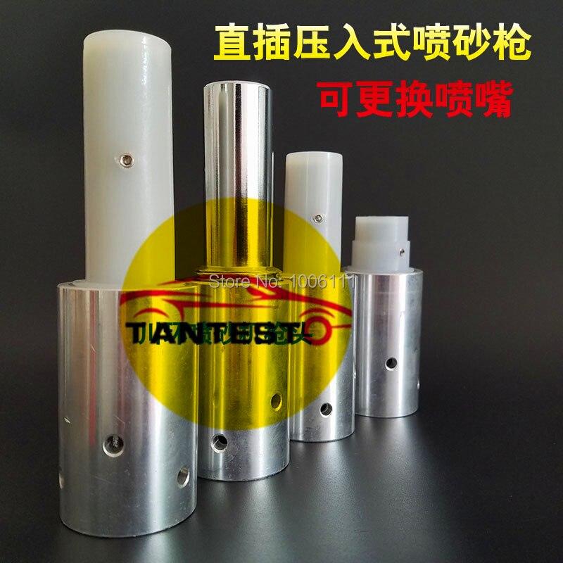 pressure sandblasting gun for sandblasting cabinet without boron carbide  nozzle, sand blasting gun kit, sandblasting nozzle gun