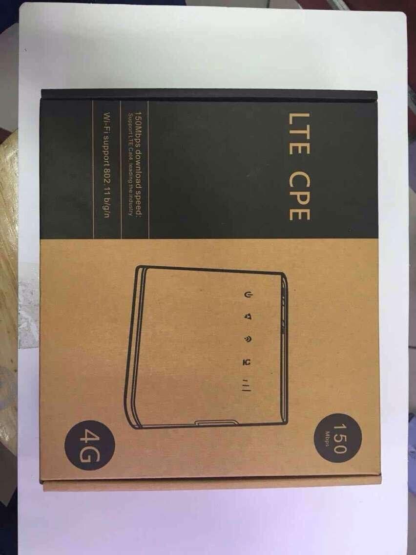 Débloqué d'origine HUAWEI B310S-22 4G LTE CPE WIFI routeur modem 150 Mbps FDD 800/900/1800/2100/2600 MHZ