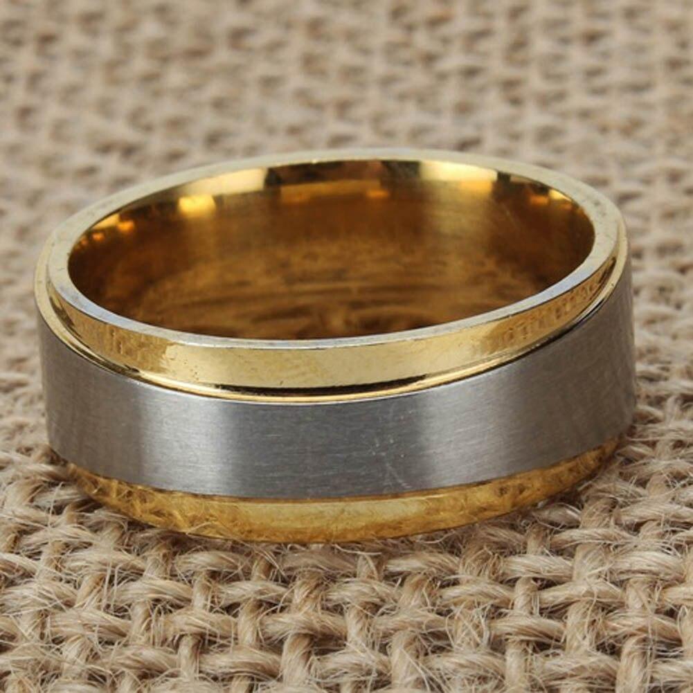 Лидер продаж Мода Свадебная пара Обручение кольцо мужчина и Famale Promise Ring Титан Сталь пару колец