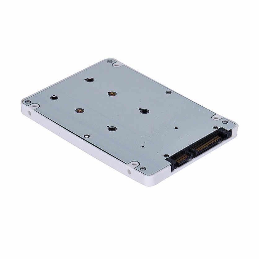 Mosunx Harga Pabrik Mini Pcie M SATA SSD untuk 2.5 Inci SATA3 Adaptor Kartu dengan Case J10T Drop Pengiriman