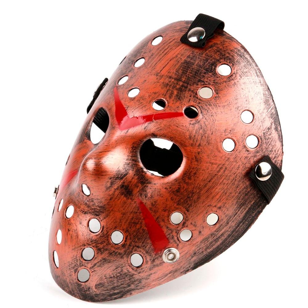 Or Vintage Party Masks Dédié Jason Voorhees Freddy Festival De - Pour les vacances et les fêtes - Photo 4