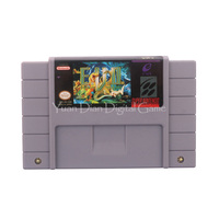 Nintendo SFC SNES Video Game Cartridge Console Card E V O Search For Eden USA English