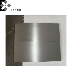 High 99.999% purity cobalt plate metal cobalt foil thickness 0.05mm - 8mm Co sheet for scientific research