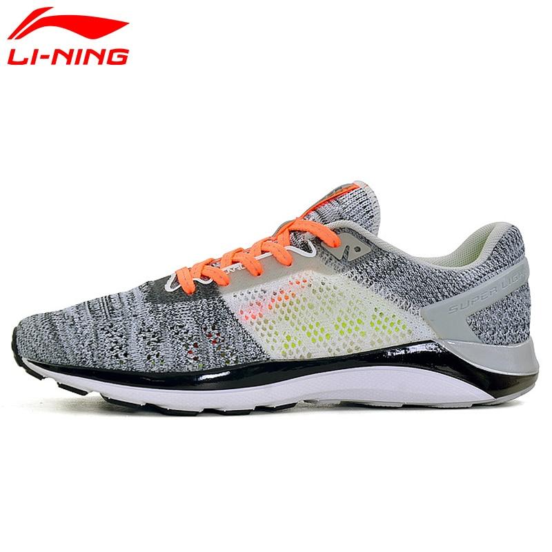 Li-Ning Women's SUPER LIGHT XIV Running Shoes Cushioning DMX Sneakers Breathable LiNing Sport Shoes ARBM028 XYP469