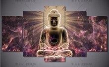 Diamond embroidery Buddha 5Pcs 5d Diy diamond painting mosaic full drill resin rhinestones cross stitch needlework wall decor