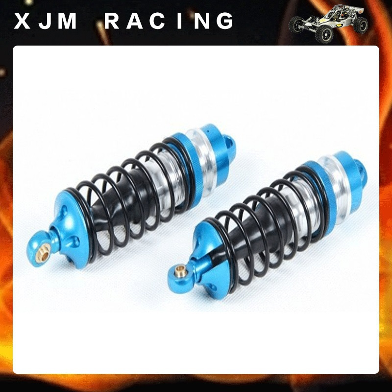 CNC metal front shock absorber set for 1/5 scale Rovan LT losi 5T parts cnc metal rear shock absorber set fit rovan hpi losi 5t parts 87004