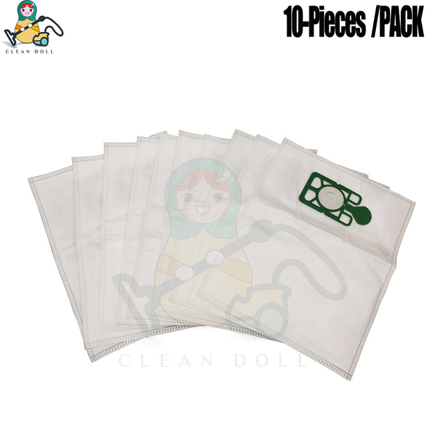 X10 Paper Dust Bags for Numatic Henry /& Hetty Canister Vacuum Cleaners 604015