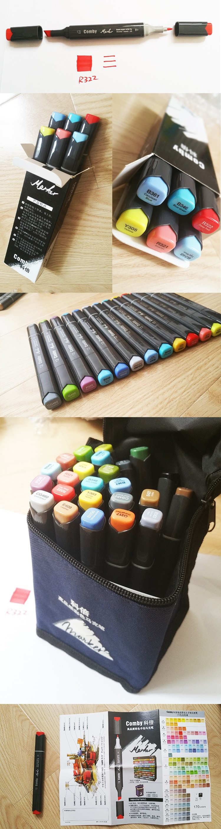 Cheap comby marker