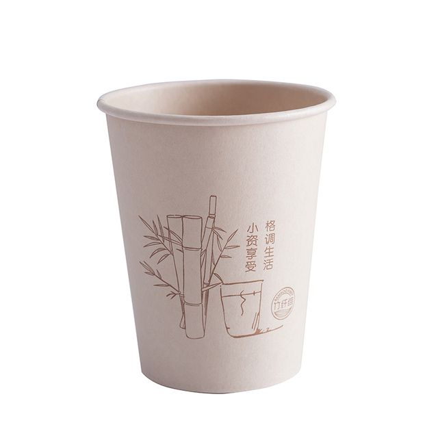 Useful Universal Disposable Eco-Friendly Bamboo Cups Set