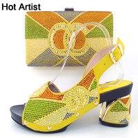 뜨거운 아티스트 이탈리아어 여성 신발과