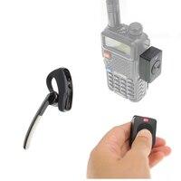 Walkie talkie Handsfree Bluetooth PTT earpiece wireless headphone headset for BaoFeng UV 82 UV 5R 888S Two Way Radio Moto Bike